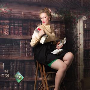 Lydie Fabbro, alias Miss Betty Eros, première dauphine Miss pin-up Centre-Val de Loire