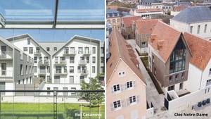 Chartres Développements Immobiliers : Ilot Casanova et Clos Notre-Dame – Satellite de Chartres métropole
