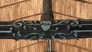 Berchères-Saint-Germain : charpente de l'église – Chartres métropole