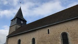 L'église Saint-Jacques de la commune d'Allonnes